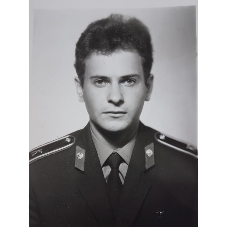 Курсант Высшей школы милиции В.Л. Бердичевский (1985 год)