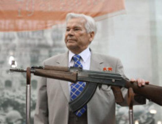 Конструктор-оружейник М.Т. Калашников (Фото: mir.ufanet.ru)