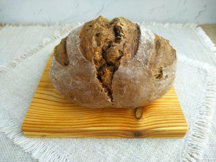 Текстура хлеба выглядит особенно аппетитно