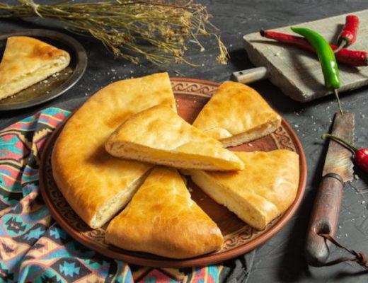 Хачапури по-имеретински — вкуснейшая грузинская выпечка