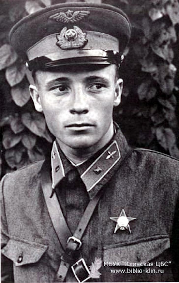 Лётчик Виктор Васильевич Талалихин