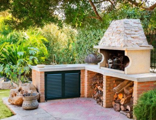 Рецепт загородного отдыха — летняя кухня на даче своими руками