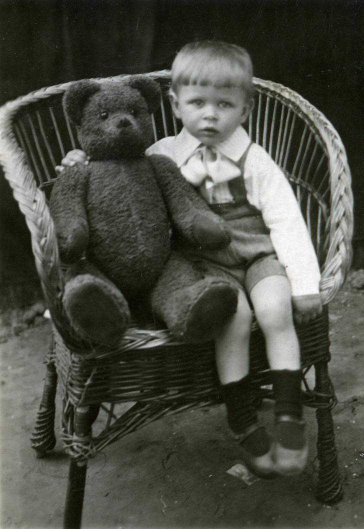 Портрет с медведем