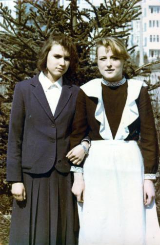 Незнакомые лица, но удивительно дорогие (фото из архива В.Кузьмина)