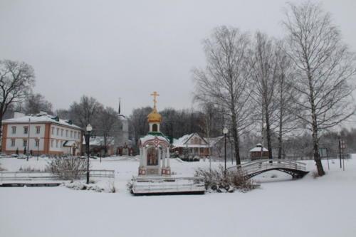 г.Клин, зима 2020/2021 год (Фото В.Кузьмин)