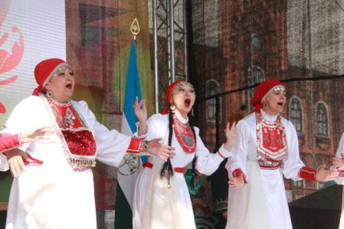 Дни Башкирии в Клину (март 2021 года, фото В.Кузьмин)