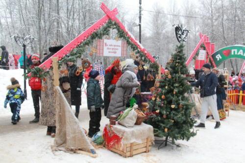 Фестиваль «Выходи гулять», Парк «Сестрорецкий», зима 2020/2021 год (Фото В.Кузьмин)