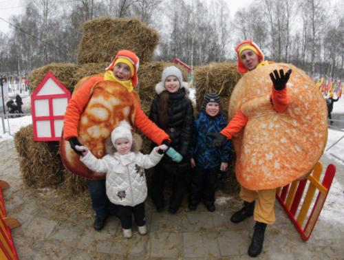 Масленица в Сестрорецком парке (март 2021 года, фото В.Кузьмин)