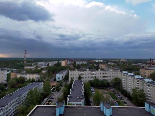 Город Клин, весна 2021 года (фото Василия и Дмитрия Кузьминых)