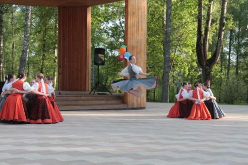 Открытие «Зеленой» сцены в парке «Березовый», г.Высоковск (май 2021 года, фото В.Кузьмин)