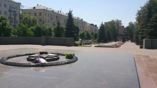 Парк славы. Пересечение улицы Гагарина и Ленинградского шоссе (Фото Василий Кульмин, 2020 год)