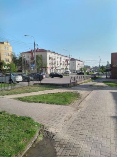 г.Клин, ул.Гагарина (фото infoce-klin.ru, май 2021)