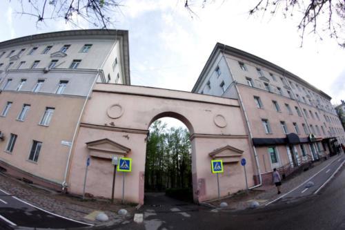 г.Клин, ул.Гагарина (фото В. И Д. Кузьминых)