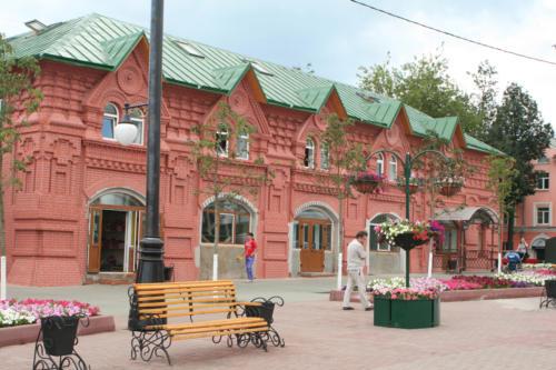 Советская площадь, Торговые ряды. (фото Василий Кузьмин, 2015 год)