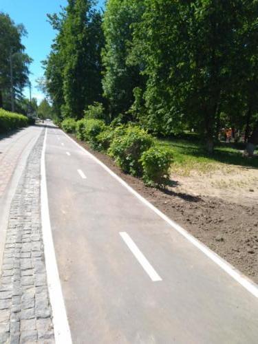 г.Клин, Бородинский проезд (фото infoce-klin.ru, июнь 2021 года)