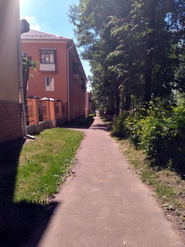 г.Клин, ул.Мира (фото infoce-klin.ru, июнь 2021 года)