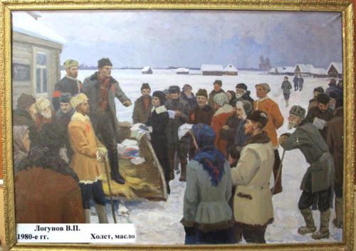 Экспонаты Ярополецкого музея (по местам боевой славы 2 дивизии народного ополчения, фото В.Кузьмин, сентябрь 2021)