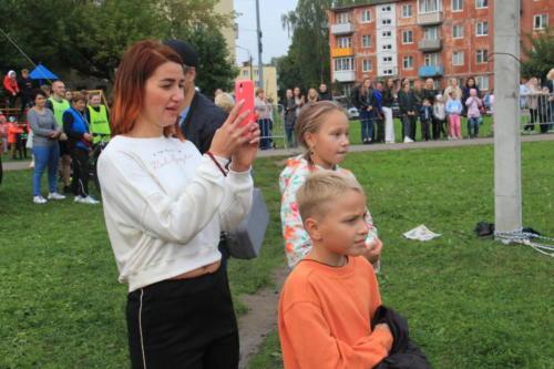 Соревновании по триатлону в честь дня рождения города Высоковска (фото В.Кузьмин, сентябрь, 2021)