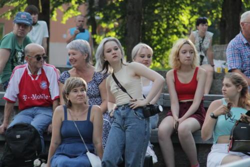 Концерт группы «Ночъ» (Фото Е.Елиной и В.Кузьмина, июль 2021 года)