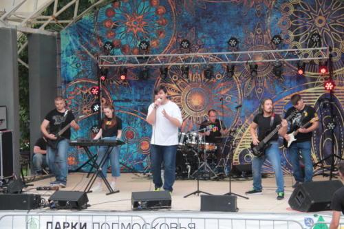 Группа «Квест», концерт «Я остаюсь, чтобы жить» в Сестрорецком» парке (фото В.Кузьмин, август 2021)
