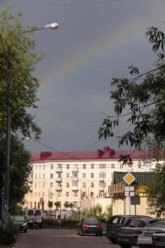 г.Клин, ул.Гагарина (фото В.Кузьмин, 2021 год)