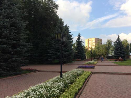 г.Клин, «Вечный огонь», (фото Олег Д.)