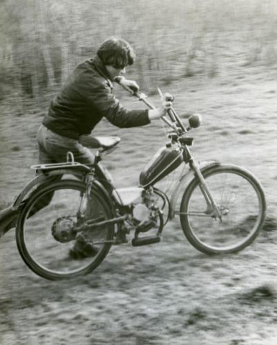 Мопед (Фото из архива Инны Конышевой, предоставлено В.Кузьминым)