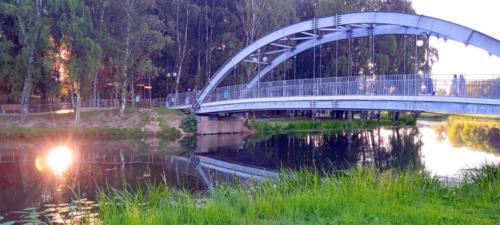 г.Клин, река Сестра, фото В.Кузьмин