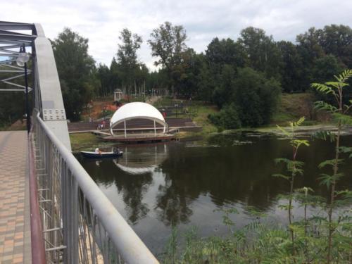 Река «Сестра», лето 2020 года (фото из архива сайта infoce-klin.ru, 2020 год)