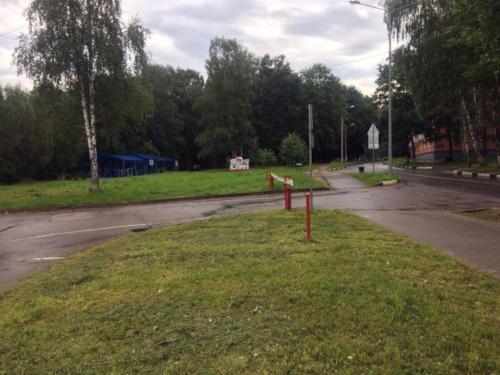 г.Клин, Сестрорецкий парк (фото из архива сайта infoce-klin.ru, 2020 год)