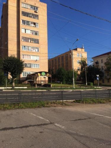 г.Клин, ул. Гагарина (фото из архива сайта infoce-klin.ru, 2020 год)