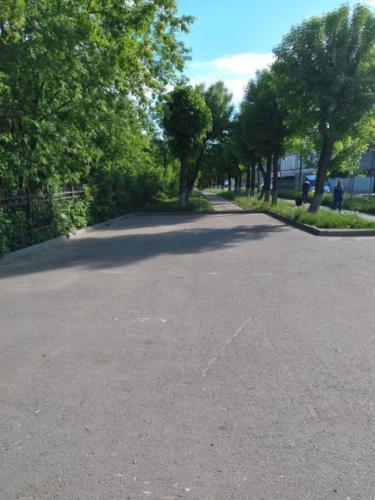 Г.Клин, ул. Папивина (фото infoce-klin.ru, май 2021 года)