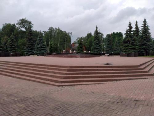 «Вечный огонь». Пересчения улицы Гагарина и Лениградского шоссе (фото infoce-klin.ru)