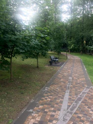 Парк «Сестрорецкий», г. Клин (фото из архива сайта infoce-klin.ru, 2020 год)